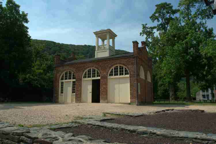 Firehouse at Harper's Ferry