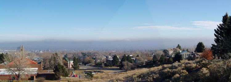 Smog in South Platte Valley
