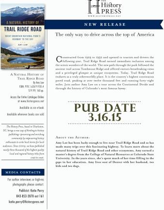 Trail Ridge Road Pub Announcement